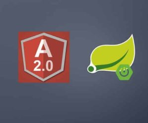 Build A Web App With Spring Framework And Angular 2