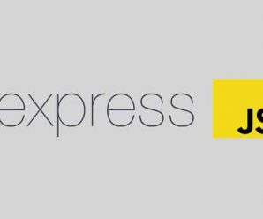 Just Express (With A Bunch Of Node And Http). In Detail
