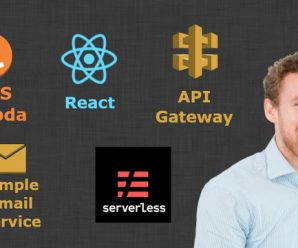 Learn Serverless and AWS whilst building a Full-Stack App with React [SkillShare]