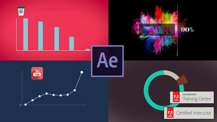 Data Visualization & Motion Graphics -Adobe After Effects CC Tutorials Udemy course free download from Google Drive - freetutorialsus.com